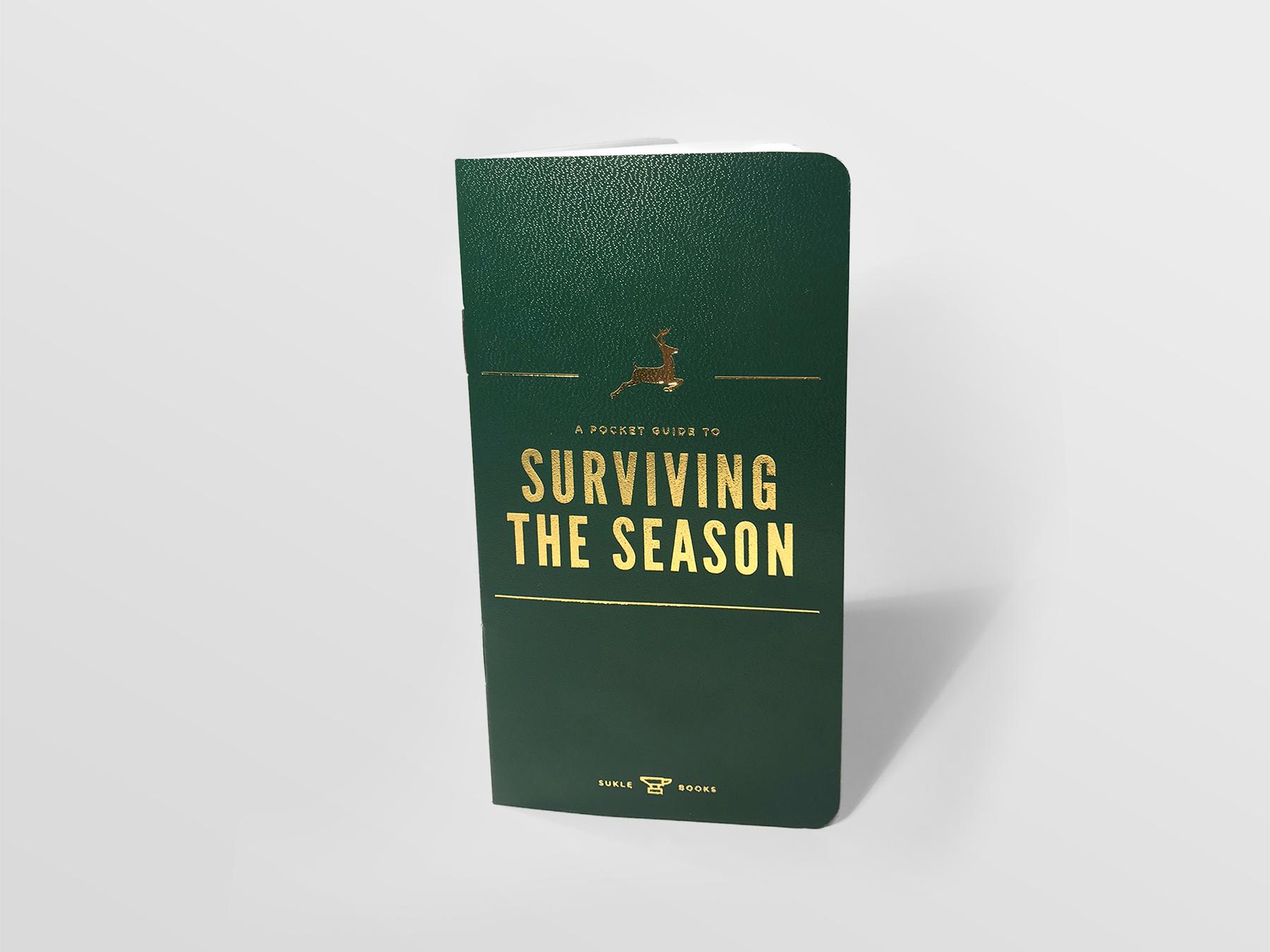 Survive the season with our holiday card